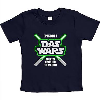 66-93 Geschenk f/ür die kleinsten Fans DAS Wars Unisex Baby T-Shirt Gr