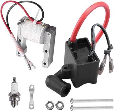Magneto Spark Plug 49cc-80cc 2-Stroke Bike High Performance CDI Ignition Coil