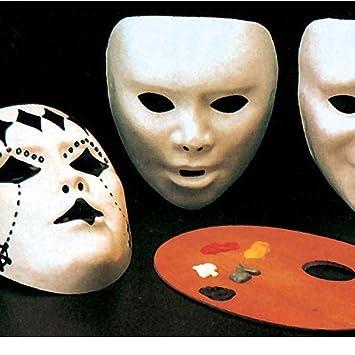 Diy Karneval Maske Faschingsmaske Zum Anmalen Weiss Do It Yourself