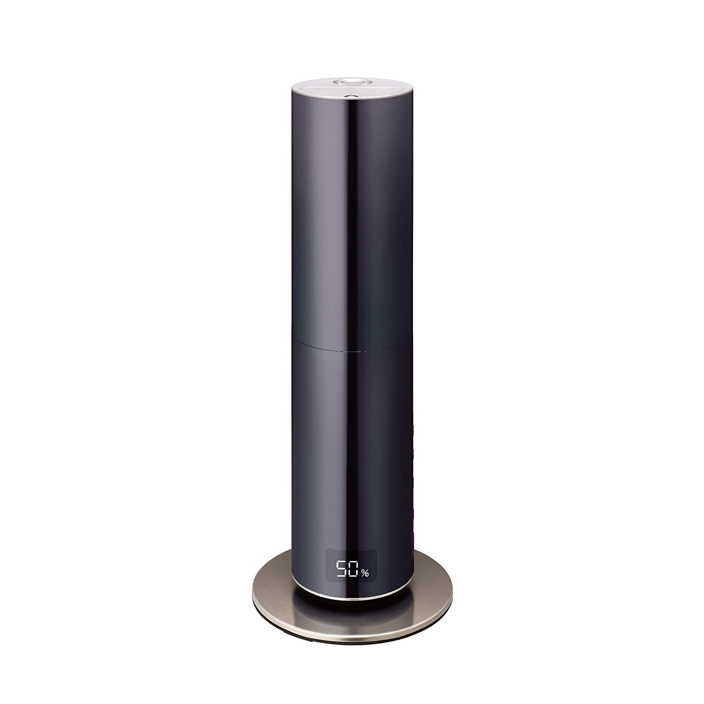 競売 ムード 加湿器 ハイブリッド式 ミラー クレベリンLED搭載 BK ブラック ブラック KMHR-701C BK ブラック ブラック B01KSQ83H2, インテリア雑貨 jam store:b59ec469 --- irlandskayaliteratura.org