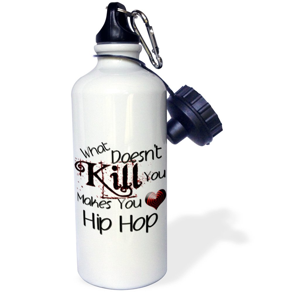Multicolored 3dRose Doesnt Kill You Hip Hop-Sports Water Bottle wb/_186029/_1 21oz