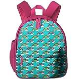 Baby Boys Girls Toddler Cute-rainbows Preschool Backpack School Bag Pink