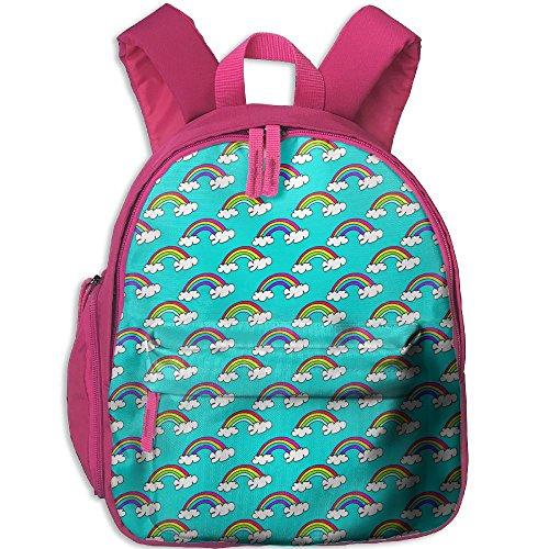 Baby Boys Girls Toddler Cute-rainbows Preschool Backpack School Bag Pink by Fashion Theme Tshirt