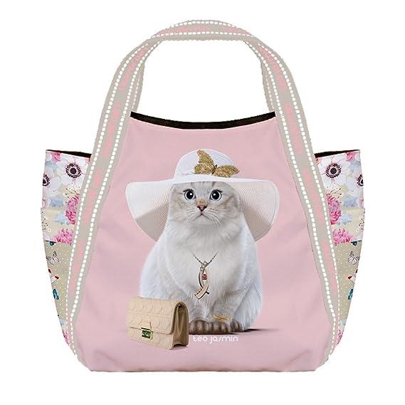 Petit sac shopping Téo Jasmin Liberty - Poudre wYhMWG1E