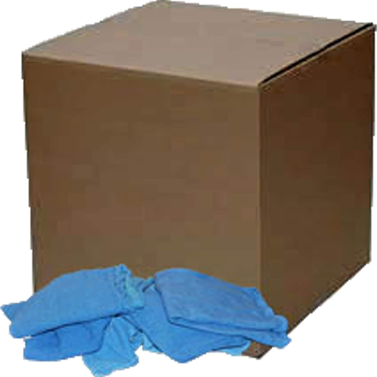 box lint free cleaning rags reclaimed blue huck surgical towels in a 10 lb