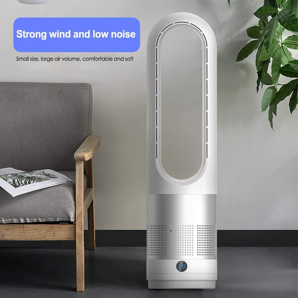 Ventilatore a torre Bladeless, 18 pollici, silenzioso, con telecomando e timer D.