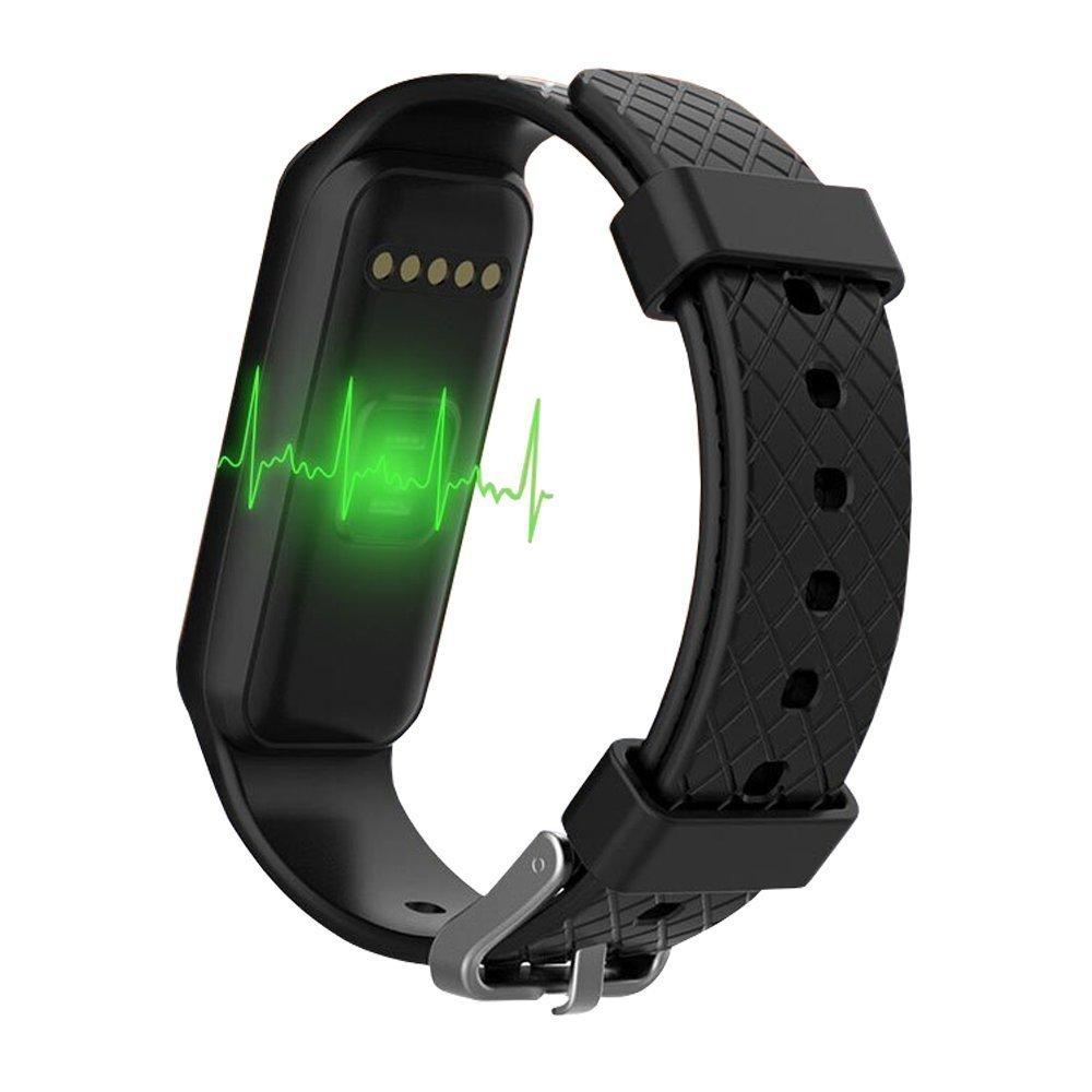 endubro Beat Pro - Fitness Tracker impermeable IP67 con pantalla de colores | Pulsómetro | podómetro | notificaciones llamadas/SMS y WhatsApp/Facebook ...