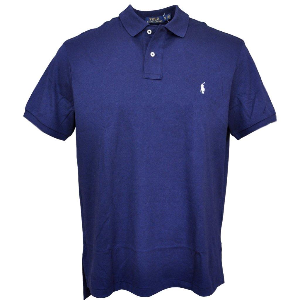 Polo Ralph Lauren Men Medium Fit Soft Touch Polo Shirt, Newport Navy, X-Large by Polo Ralph Lauren