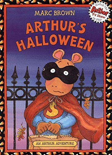 By Marc Brown - Arthur's Halloween: Book & CD (Arthur Adventures) (Pap/Com Re) (2009-08-16) -