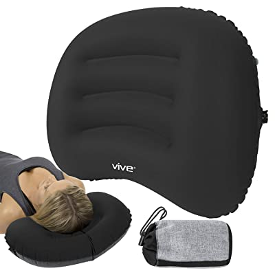 Vive Inflatable Lumbar Support Cushion