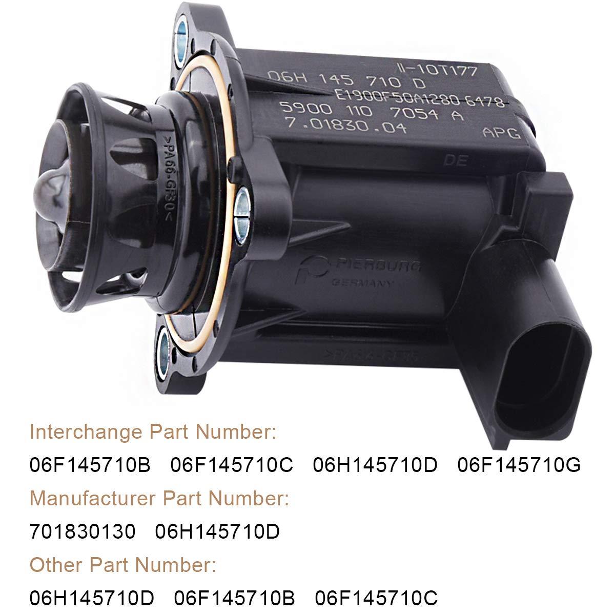 Turbo Diverter Solenoid Valve 06F145710B 06F145710C 06F145710G 06H145710D