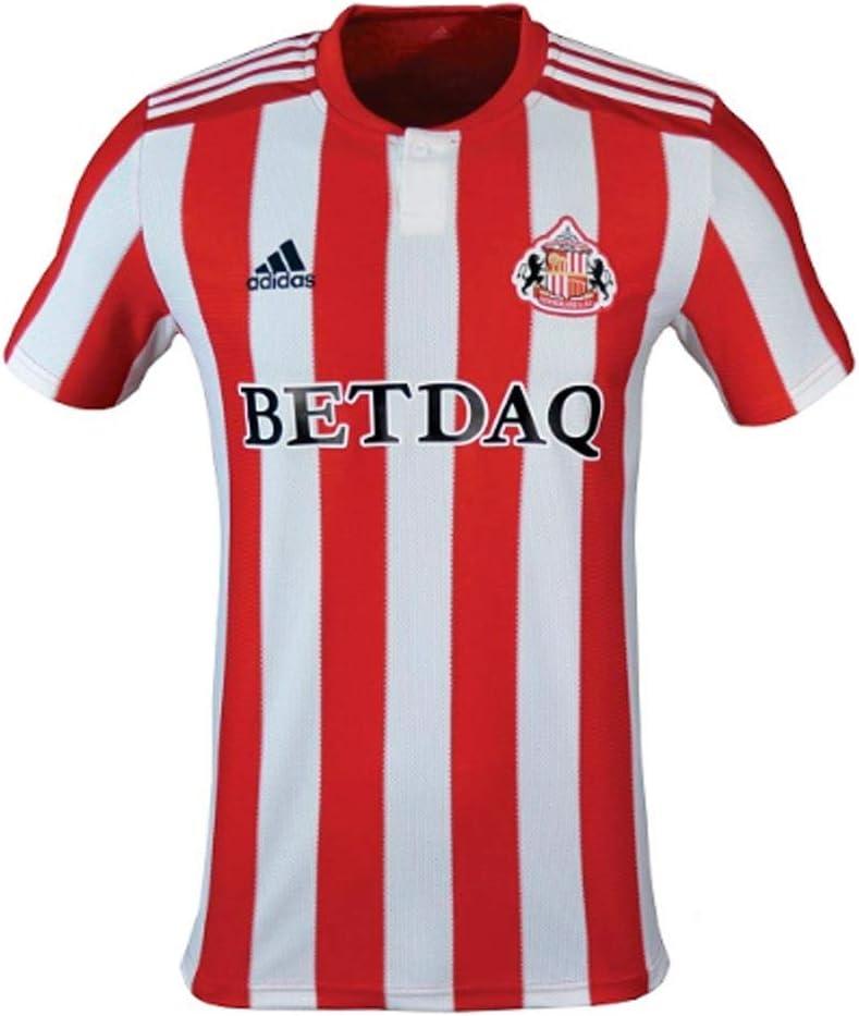 adidas 2018-2019 Sunderland Home Football Soccer T-Shirt Camiseta: Amazon.es: Deportes y aire libre