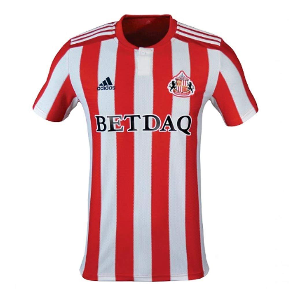 Adidas 2018-2019 Sunderland Home Football Soccer T-Shirt Trikot