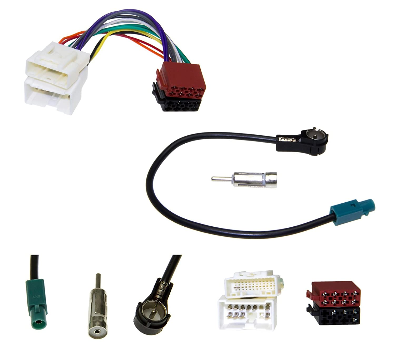 Auto Radio antenne adaptateur c/âble de voiture DIN ISO