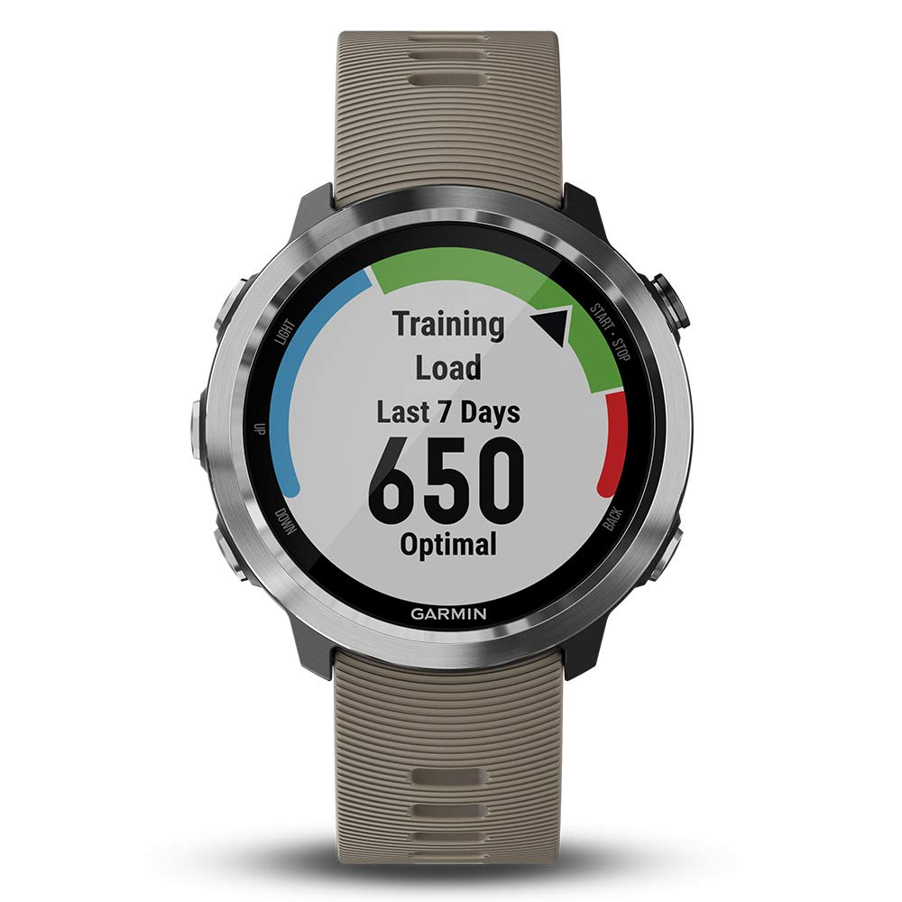 Garmin Forerunner 645 Bundle with Extra Band & HD Screen Protector Film (x4) | Running GPS Watch, Wrist HR, LiveTrack, Garmin Pay (Sandstone, White) by PlayBetter (Image #5)
