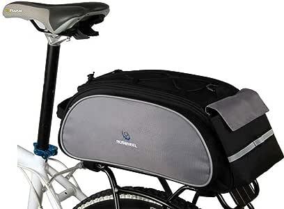 Roswheel Bolsa de Ciclismo Cesta de Bicicleta, Alforja de ...