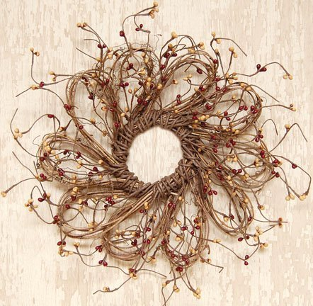 Burgundy-and-Gold-Flower-Shape-Pip-Wreath
