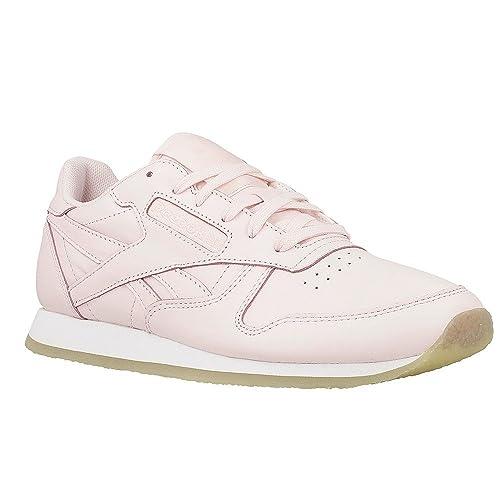 Reebok Classic Leather Crepe Damen Sneaker Pink: