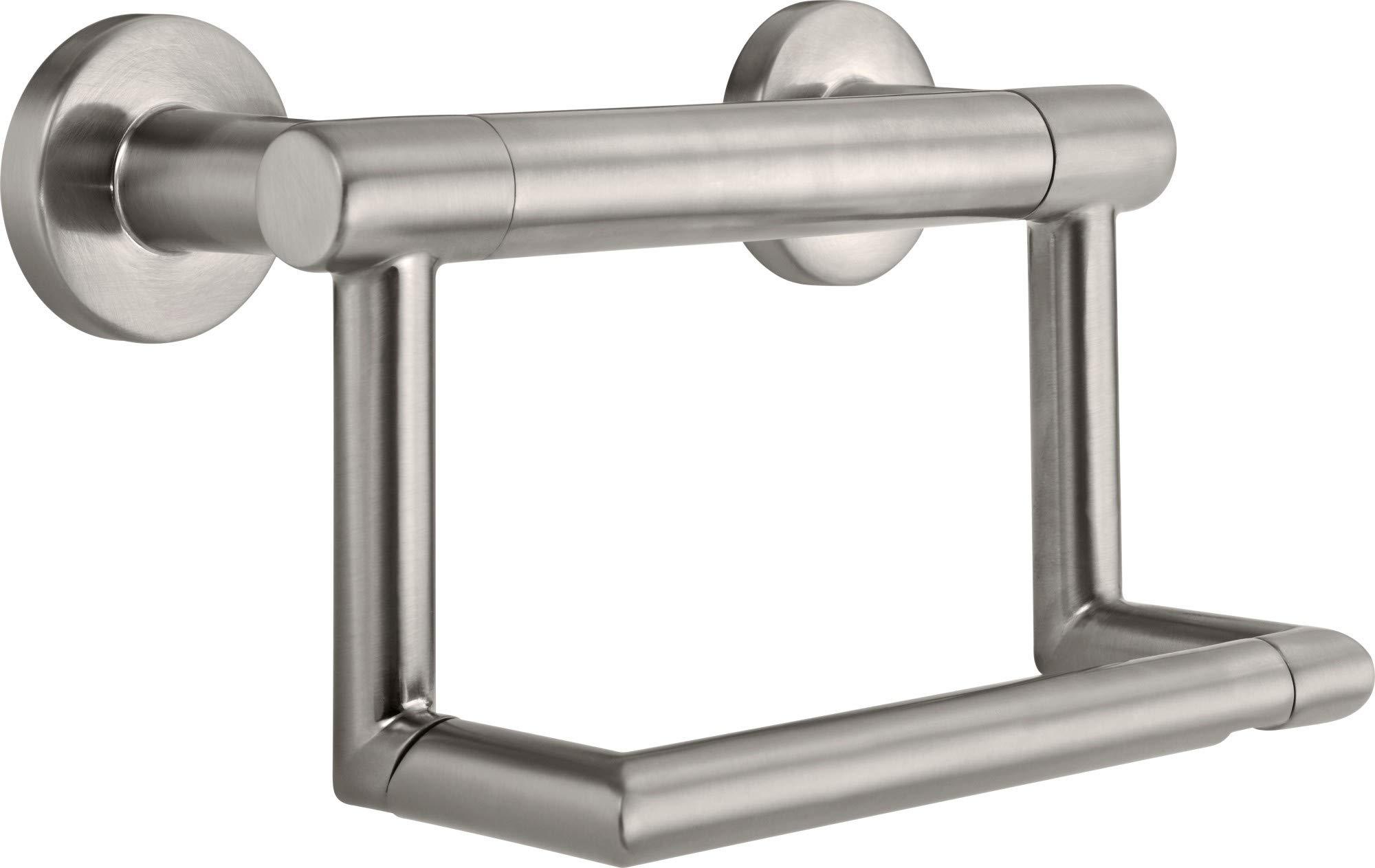 Delta 41550 Decor Assist Pivoting Tissue Holder, Brilliance Stainless