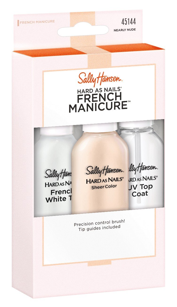 Sally Hansen Hard As Nails French Manicure Nearly Nude Kit by Sally Hansen