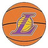 FANMATS NBA Los Angeles Lakers Nylon Face Basketball Rug