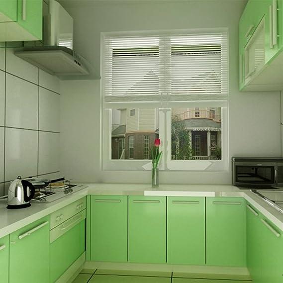 Amazon.de: KINLO Elegant Klebefolie PVC 0.61x5M Grün Küchenfolie ...