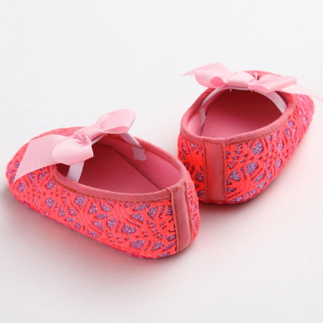 Gotd Newborn Baby Girl Soft Shoes Soft Soled Non-slip Footwear Crib Shoe
