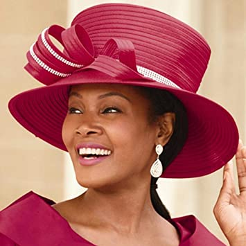 3cdb55d654347 Amazon.com   Color Closeout Lady Willene Church Hat by EY Signature   Beauty