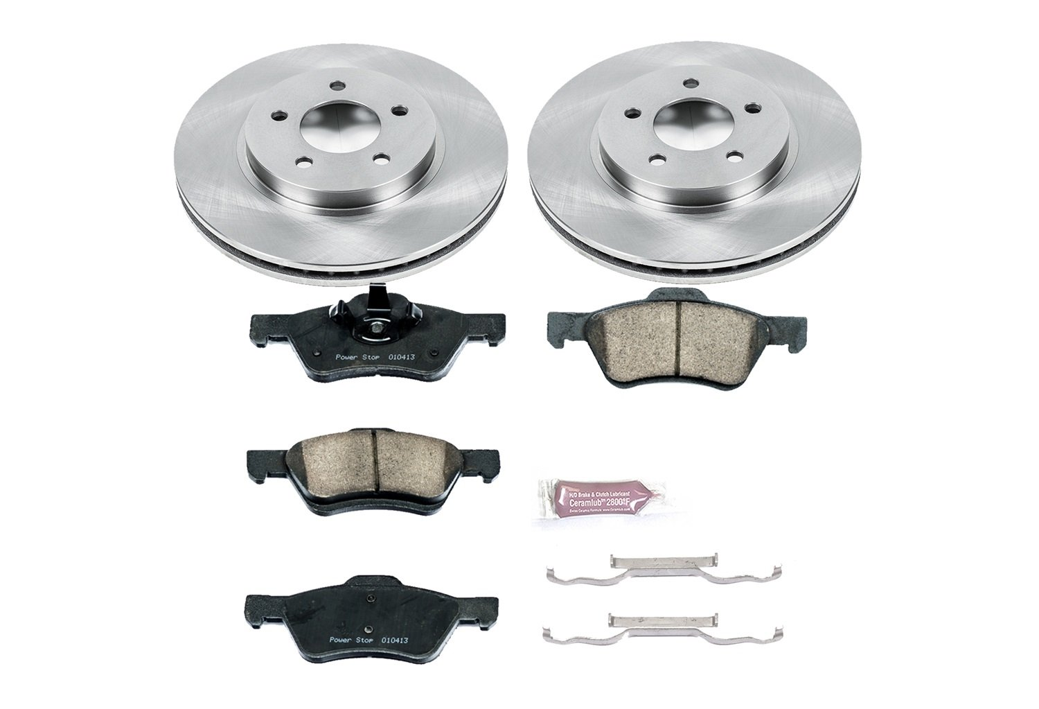 1-Click OE Replacement Brake Kit KOE4585 Autospecialty
