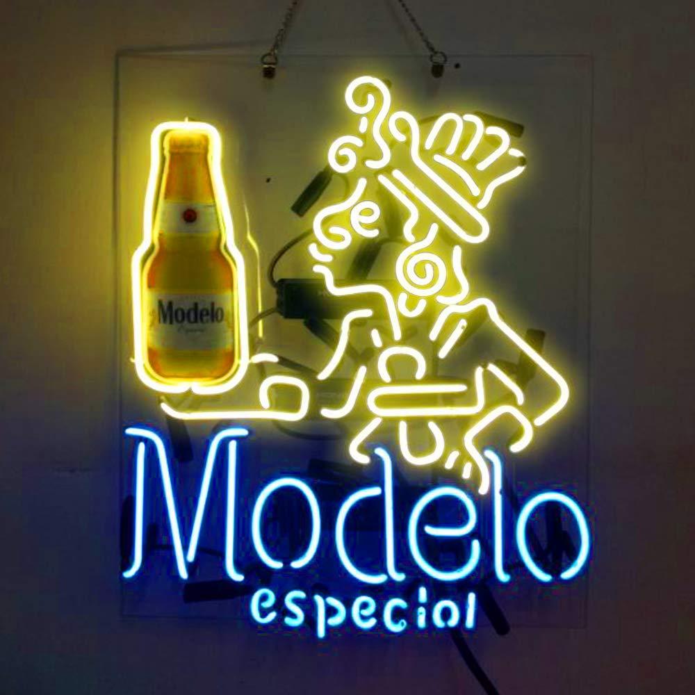Modelo Especial Beer Bar Pub Store Room Wall Windows Display Neon Signs 19x15