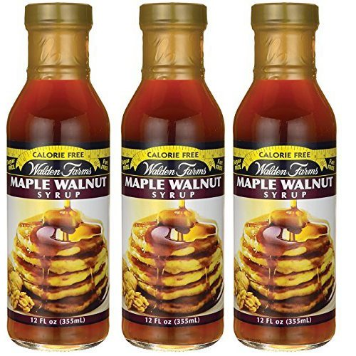Walden farms Calorie Free Syrup 12 oz (Maple Walnut Syrup, 3 ()