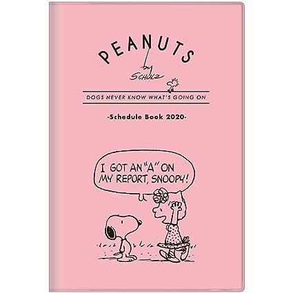 Snoopy Peanuts 2020 - Agenda de anillas (tamaño A5), color ...