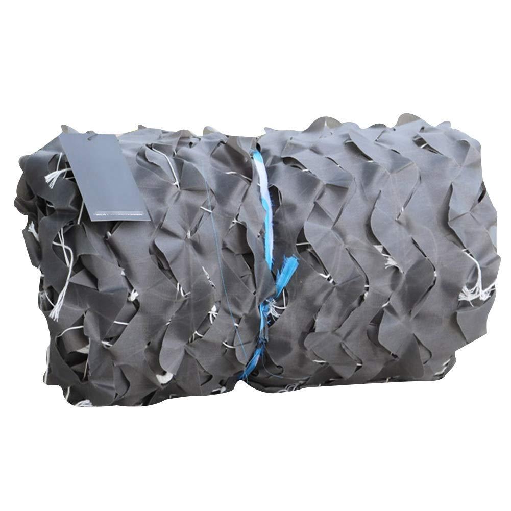 7x8m QIANGDA Filet De Camouflage Filet pour Parasol gris Accessoires De Chasse Les Stores Filet Camo pour Abri De Pêche Camping Cacher Filets De Prougeection Solaire MultiCouleures (Taille   3x7m)