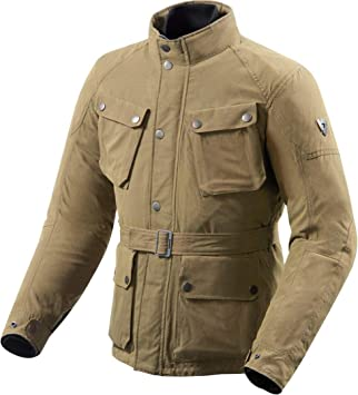 Revit Living Stone Textil Chaqueta Moto Chaqueta Hombre hydratex | Lite: Amazon.es: Coche y moto