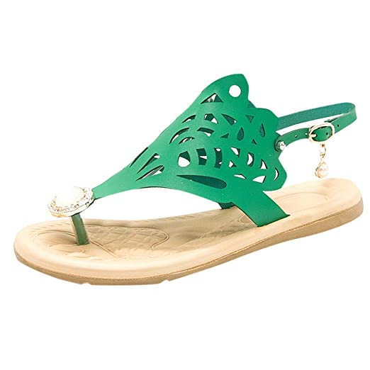 9de339ce940f7 Amazon.com: {Minikoad}Women Roman Shoes,Ladies Beach Flat Sandals ...