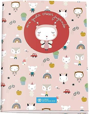 Cuaderno de Colorear A5 - Aldeas Infantiles SOS - Abeja: Amazon.es: Oficina y papelería