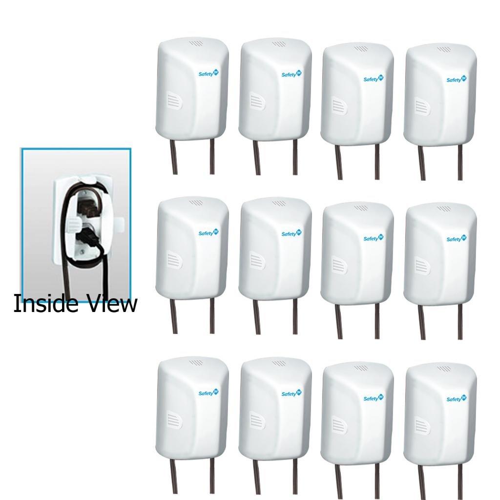 2019年最新海外 Safety 1st with Outlet Cover with B00I9C4S5O Cord Cover Shortener, by Safety 1st B00I9C4S5O, ライクズ(LIKEZ):11d6fb04 --- outdev.net