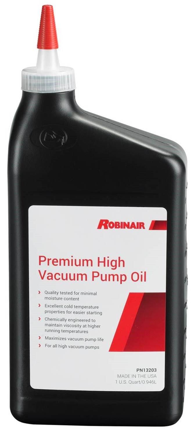 Robinair 13203 Premium High Vacuum Pump Oil - 1 Quart by Robinair (Image #1)