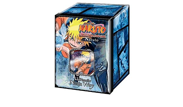 NARUTO  SASUKE  ULTIMEATE NINJA WAY TIN BOX FACTORY SEALED