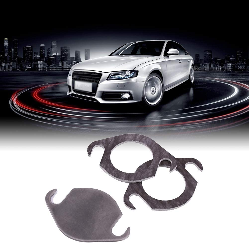 Valve Blanking Plate Kit with Gasket Fit for TDI Engines for Fabia//Octavia//Superb//Roomster//SEAT//Arosa//Ibiza//Cordoba