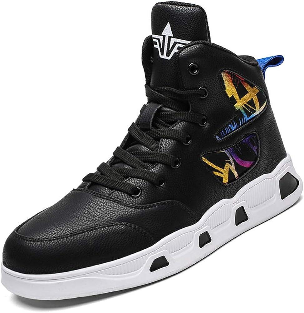Fashion Men's High Top Basketball Shoes