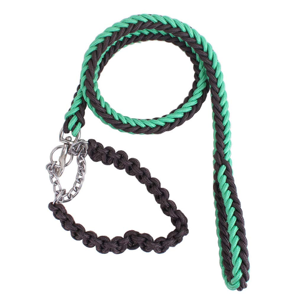 D L D L Quality Dog Cat Leashes Pet Leash Durable Rope Twist Lead in Strong Pulling Support Dogs. (color   D, Size   L)