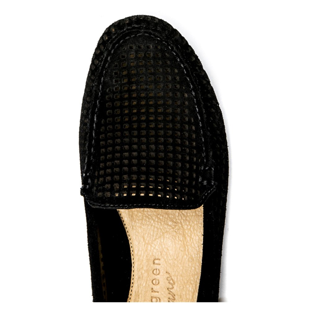 Patricia Green Womens Barrie Black Loafer 8 M