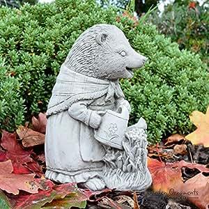 onefold–Mrs tiggy-Winkle Beatrix Potter mano fundido adorno de jardín Estatua de piedra