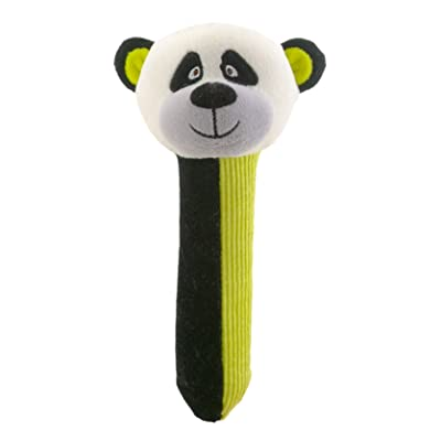 Panda Rattle And Squeaker Squeakaboo Toy: Computers & Accessories