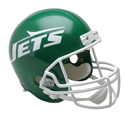 Image Unavailable. Image not available for. Color  Riddell NEW YORK JETS  1978-1989 NFL Full Size REPLICA Throwback Football Helmet d971717e4