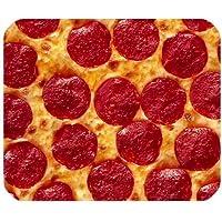 Unique Pizza Pattern Customized Rectangle Non-Slip Rubber Mouse Pad Gaming Mousepad (SunshineMP-683)