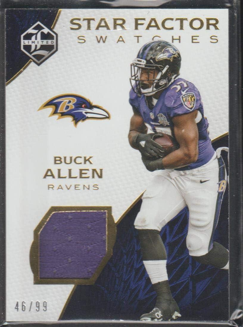 Amazon.com: 2016 Panini Limited Buck Allen Ravens 46/99 Game Used ...