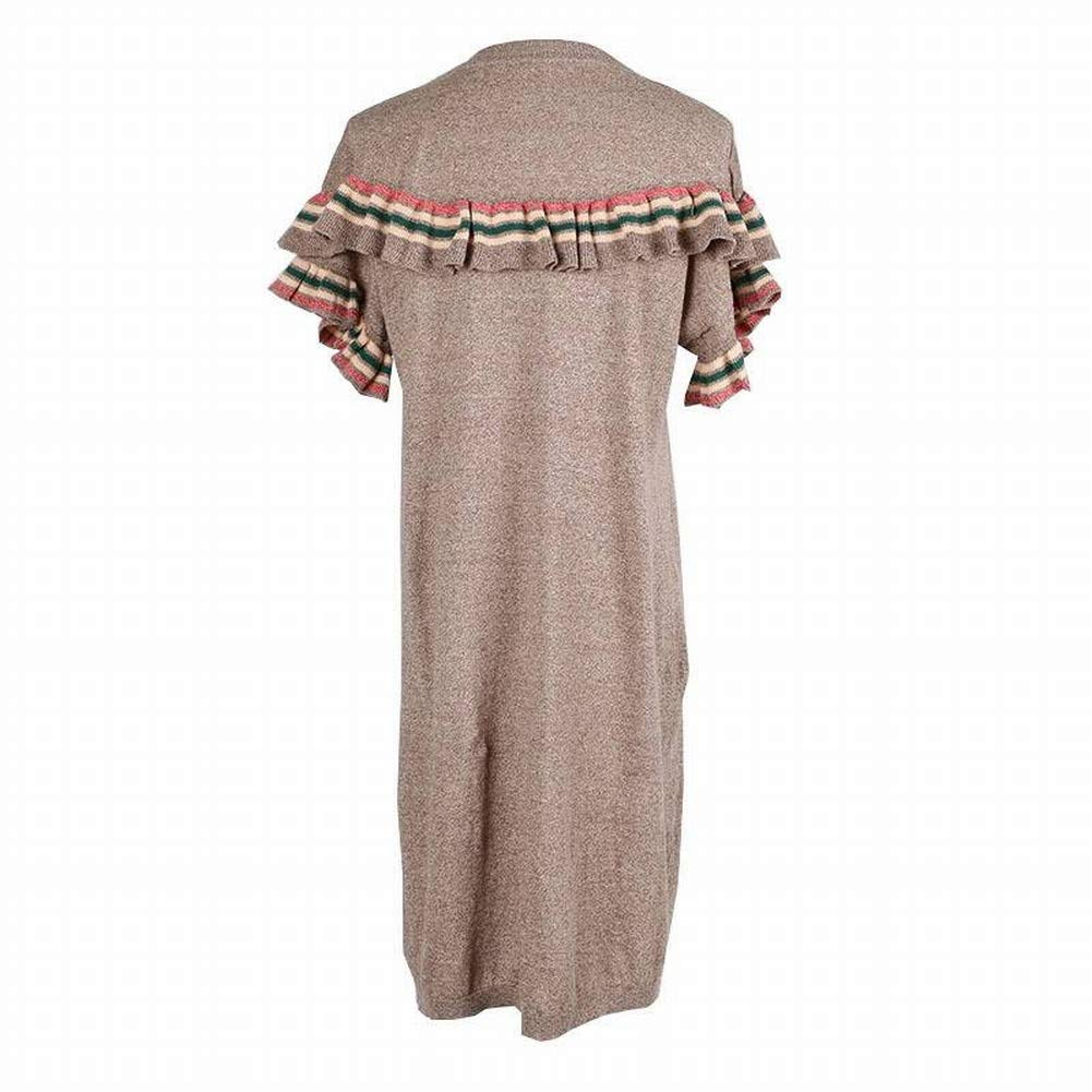 Good dress Woherren Fliegende Ärmel Nähte Rüschen Lose Lose Lose Bequemes Midi-Kleid B07H3HHKZV Bekleidung Professionelles Design b48e5b