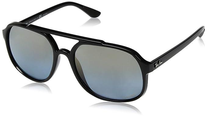 Ray-Ban 0RB4312CH Gafas de sol, Black, 56 para Hombre ...